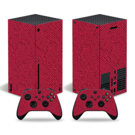 Cool Gradient Rood - Xbox Series X Console Skins