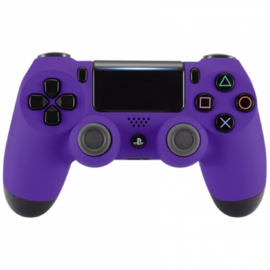 Soft Touch Paars - Custom PS4 Controllers  V2