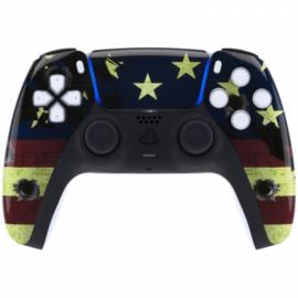 Sony PS5 DualSense Draadloze Controller - US Flag Front Custom