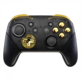 Chrome Gold - Nintendo Switch Pro Controller Buttons