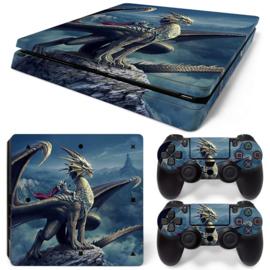 Dragon - PS4 Slim Console Skins