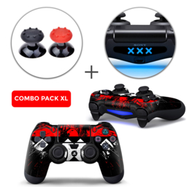 Amsterdam XXX Skins Grips XL Bundel - PS4 Controller XL Combo Packs