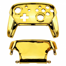 Chrome Goud - Nintendo Switch Pro Controller Shells