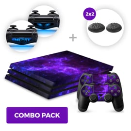Dark Galaxy Skins Bundle - PS4 Pro Combo Packs