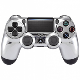 Chrome Zilver - Custom PS4 Controllers V2