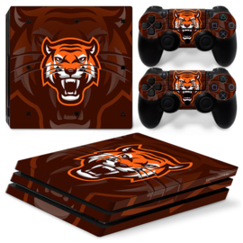 Gamer Tiger - PS4 Pro Console Skins