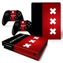 Amsterdam Premium - Xbox One X Console Skins