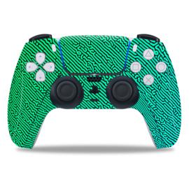 PS5 Controller Skins - Cool Gradient Blauw / Groen