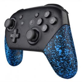 NS Behuizing Shell - Blauw 3D Grip - Pro Grip Shells