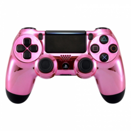 Chrome Roze - Custom PS4 Controllers V2