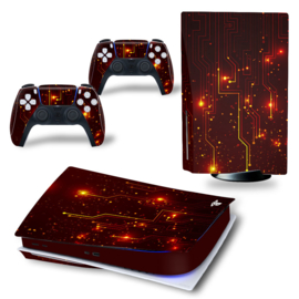 PS5 Console Skins - CPU Rood