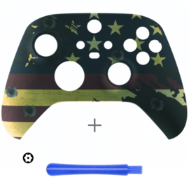 US Flag - Xbox Series Controller Behuizing Shell