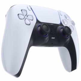 PS5 Controller Buttons - Metallic Chameleon Blauw / Paars - Accent Ringen