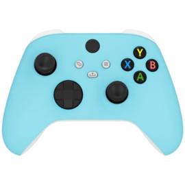 Xbox Series Draadloze Controller - Soft Touch Hemelsblauw Custom