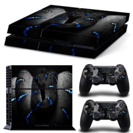 Blue Viper Snake - PS4 Console Skins