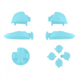 Soft Touch Hemelsblauw - Nintendo Switch Pro Controller Buttons