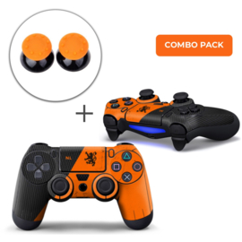 Nederland Premium Skins Grips Bundel - PS4 Controller Combo Packs