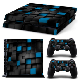 3D Cubes - PS4 Console Skins