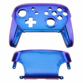 Metallic Chameleon Blauw / Paars - Nintendo Switch Pro Controller Shells