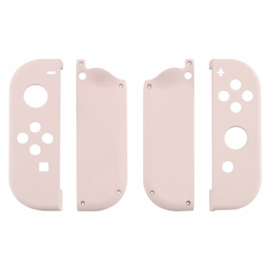 Soft Touch Lichtroze set - Nintendo Switch Controller Shells