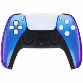 Sony PS5 DualSense Draadloze Controller - Blauw / Paars Metallic Front Custom