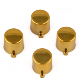 Gold Chrome (4 pieces) - PS4 Controller Buttons