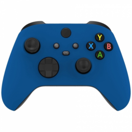 Xbox Series Draadloze Controller - Soft Touch Blauw Custom