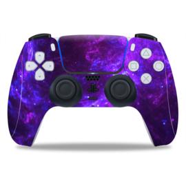 PS5 Controller Skins - Dark Galaxy