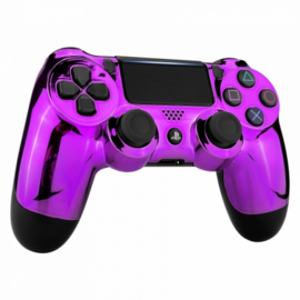 Chrome Purple (GEN 4, 5) - PS4 Controller Shells