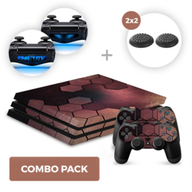 Steel Bronze Skins Bundel - PS4 Pro Combo Packs