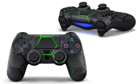 Hex Lime - PS4 Controller Skins