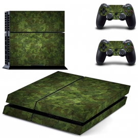 Army Camouflage Woodland - PS4 Console Skins
