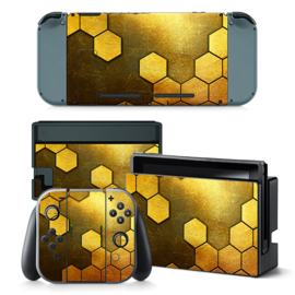 Steel Gold - Nintendo Switch Skins