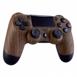 Sony DualShock 4 Controller PS4 V2 - Wood Custom