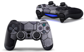 Steel Silver - PS4 Controller Skins