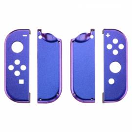 Metallic Chameleon Blauw / Paars set - Nintendo Switch Controller Shells