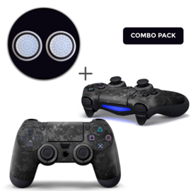 Digital Camo Skins Grips Bundle - PS4 Controller Combo Packs