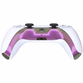 PS5 Controller Behuizing Shell - Roze / Groen Metallic - Cover Shell