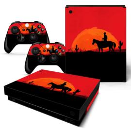 Wild West - Xbox One X Console Skins