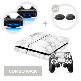 Marble White Skins Bundle - PS4 Combo Packs