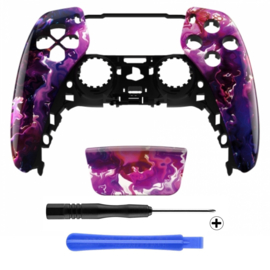 PS5 Controller Behuizing Shell - Magma - Front Shell