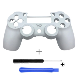 PS4 Controller Behuizing Shell - Glacier White (GEN 4, 5) - Front Shell