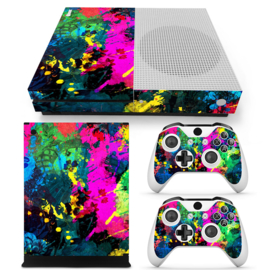 Color Splash - Xbox One S Console Skins