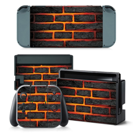 Lava Brick - Nintendo Switch Skins