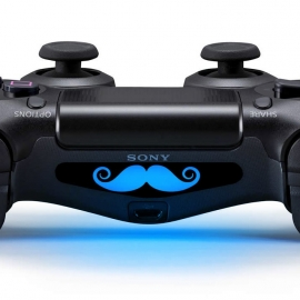 Moustache - PS4 Lightbar Skins