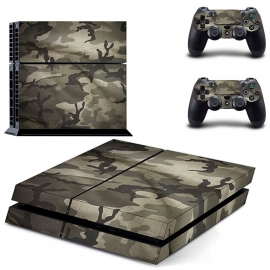 Army Camouflage Flecktarn - PS4 Console Skins