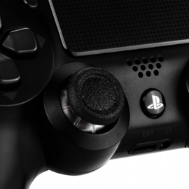 Transparant met Zwart - PS4 Thumbsticks