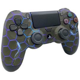 Sony DualShock 4 Controller PS4 V2 - Hex Lightning Custom