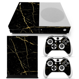 Marmer Goud - Xbox One S Console Skins