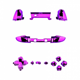 Purple Chrome - Xbox One S Controller Buttons